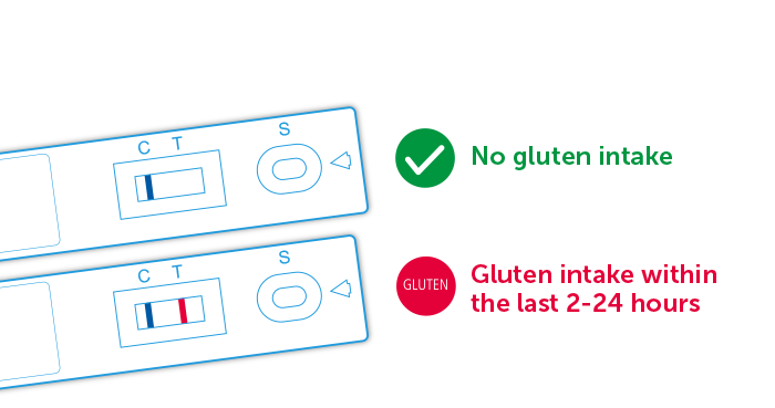 Test Casettes Gluten Detect