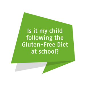 Is it my child following the Gluten-Free Diet at school?