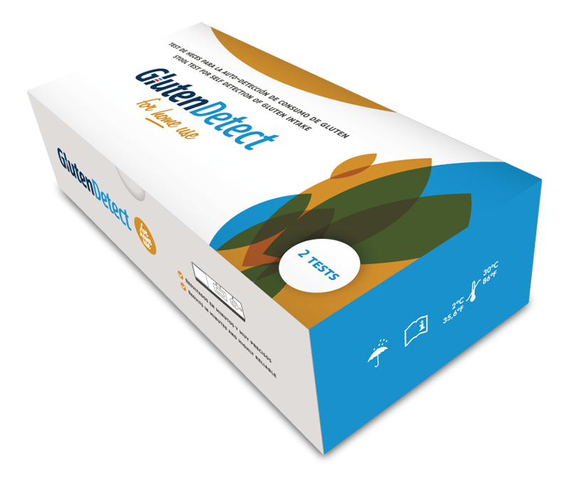 GlutenDetect - Urine test for self detection of gluten intake